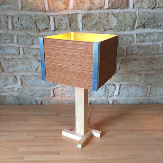 Scrivania in legno tavolo lampada da comodino di Uniquelightingco