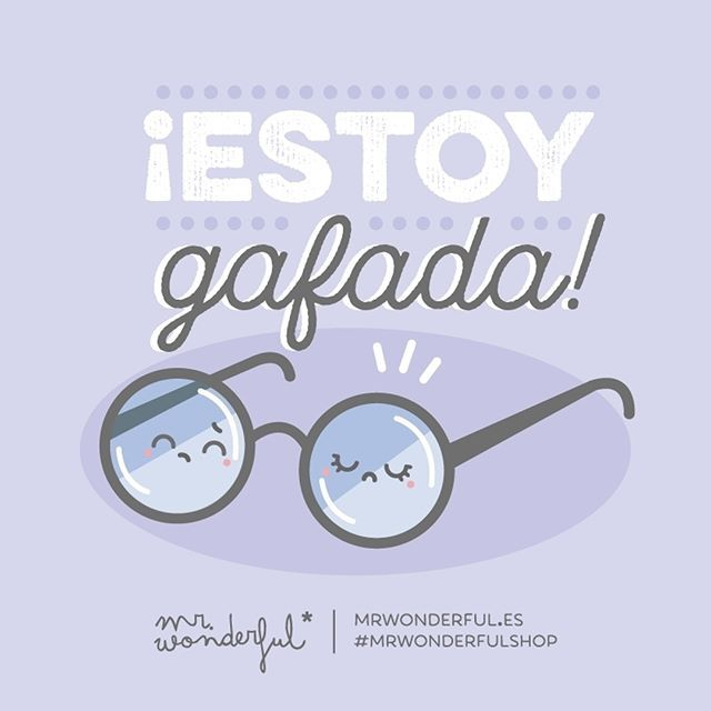 ¿Supersticioso yo? Uy, no, no…  #mrwonderfulshop #quotes #viernes13 #friday #glasses #luck