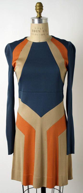 vintage dress | 1960s | Dress John Kloss, American ca. 1967 Rayon