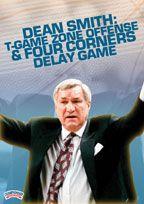 Dean Smith: T-Game Zone Offense - Coach's Clipboard #Basketball DVD Store