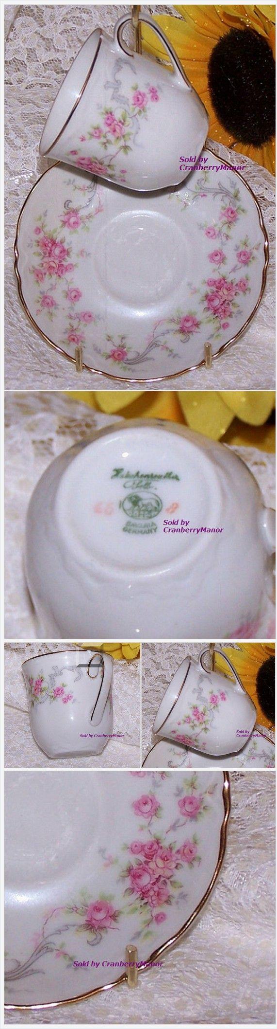 Pink Rose Tea Cup & Saucer by Lorenz #Hutschenreuther Selb Bavaria #Germany Richelieu #Demitasse #Vintage Mid Century 1960s #German #Designer #Gift ... #TeaCup #MidCentury http://cranberry-manor.com/pink-rose-tea-cup-saucer-lorenz-hutschenreuther-selb-bavaria-germany-richelieu-demitasse-vintage-mid-century-1960s-german-designer-gift/