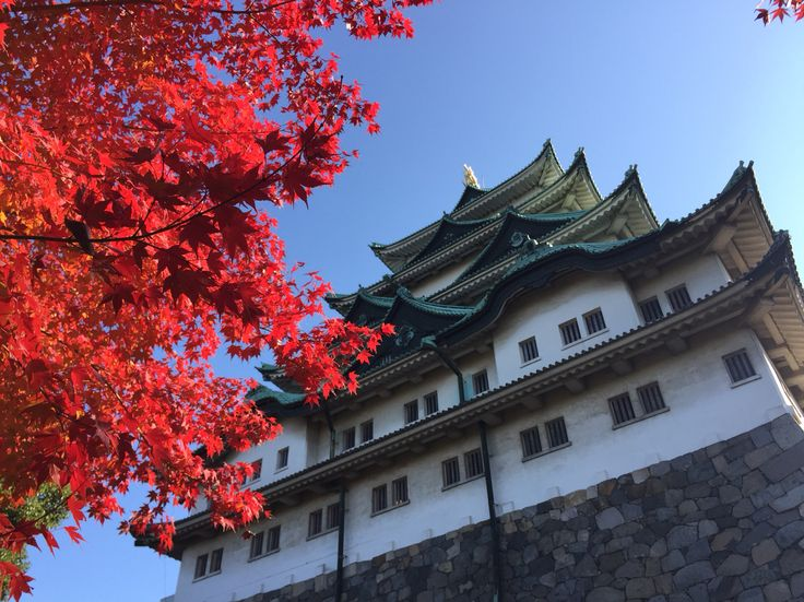 Nagoya Castle in Autumn