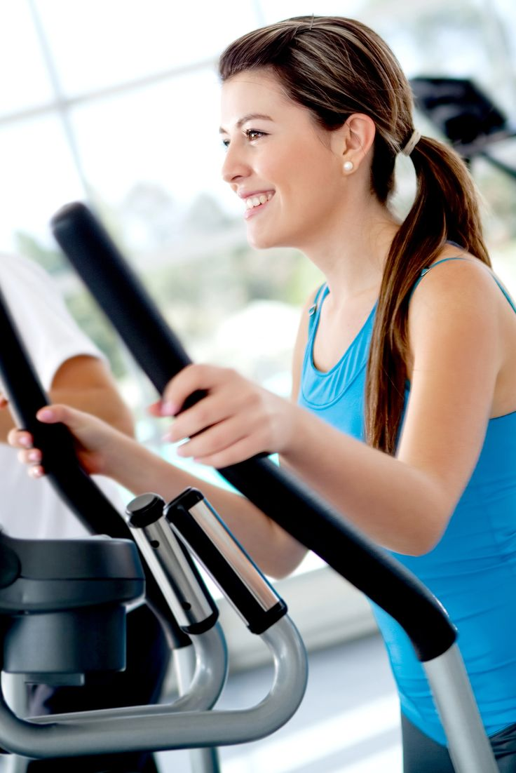 Tone and sweat with this full-body elliptical workout. This is a perfect starter program for cardio newbies!