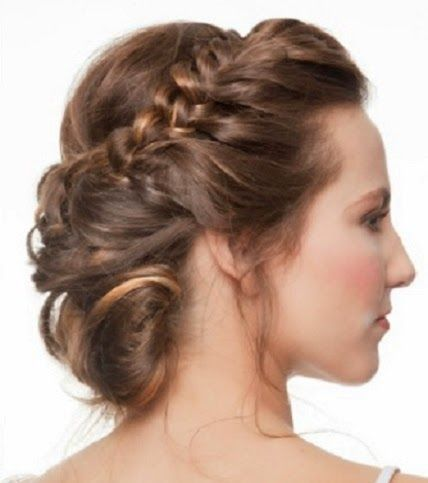 252 best images about cortes de pelo y recogidos on - Diademas para bautizo ...