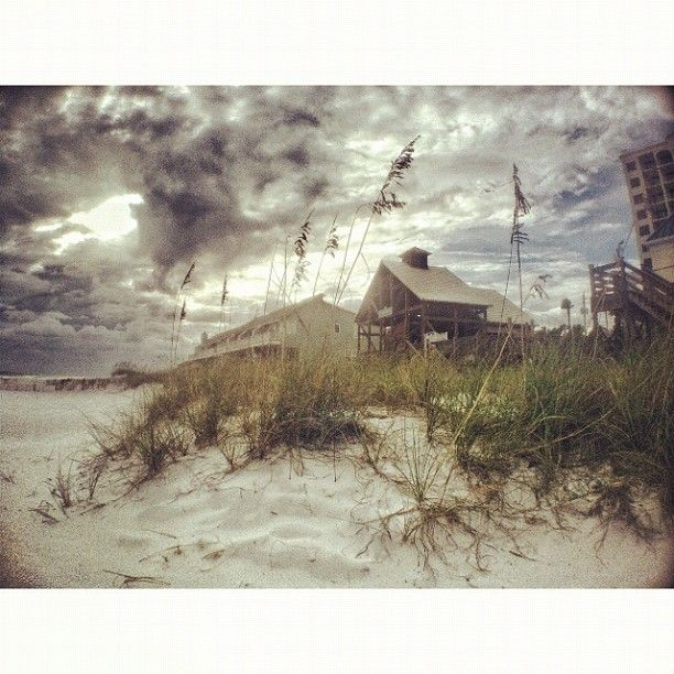 Near Santa Rosa Beach in Florida before Isaac