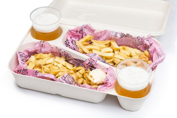 Lightweight, incredibly strong and built to run through mud and jump over barricades—and the shoebox is designed to hold two beers and servings of frites