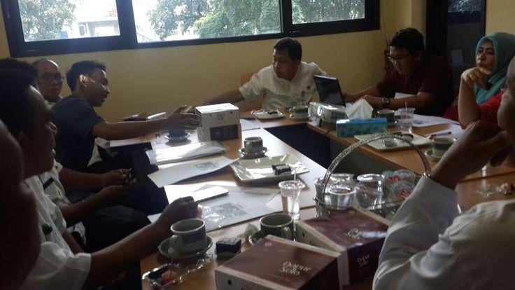 Rapat Persiapan Pemasangan Stiker Penunggak PBB-P2 wilayah Kecamatan Tebet