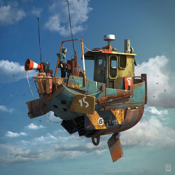 Waldo by Moran Tennenbaum, via Behance