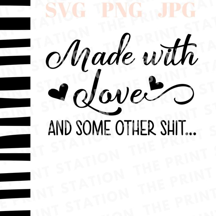 Download Made With Love And Some Other Shit, Pot Holder SVG, Pot ...