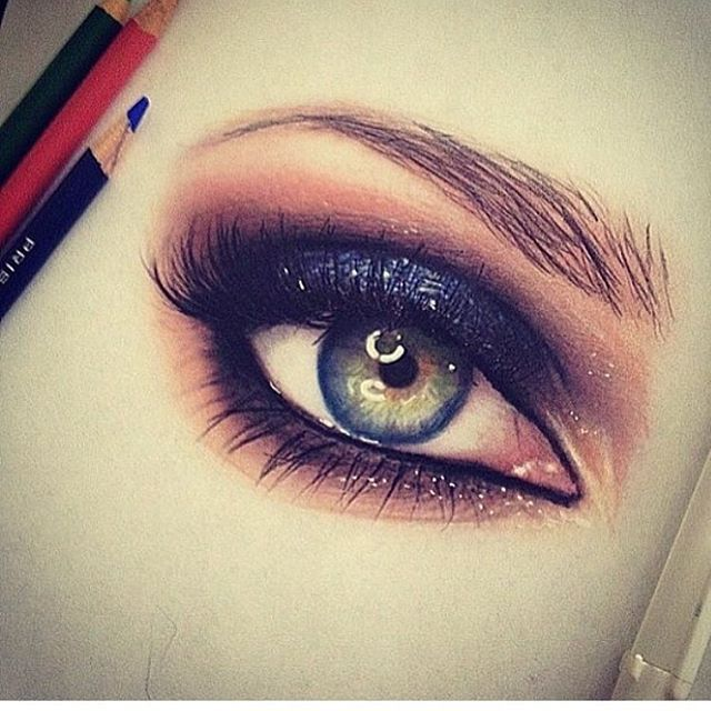 Happy Friday with a drawing by @emackelder :small_blue_diamond: :art: Tag your Colored Pencil artwork with #cp_art for a chance to be featured :art: :small_blue_diamond: #portrait #pencilportrait #eyedrawing #eyesketch #portraiture #eye #mayamiamakeup #ma