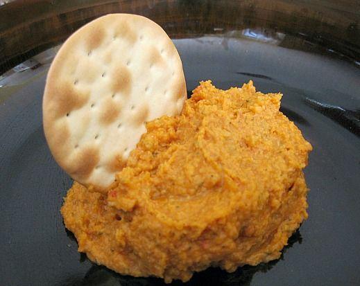 Sun-dried Tomato Hummus | food/fuel/food | Pinterest