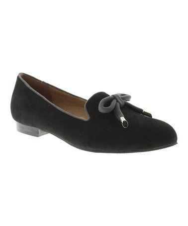 Look what I found on #zulily! Black Centerpiece Loafer by Azura #zulilyfinds
