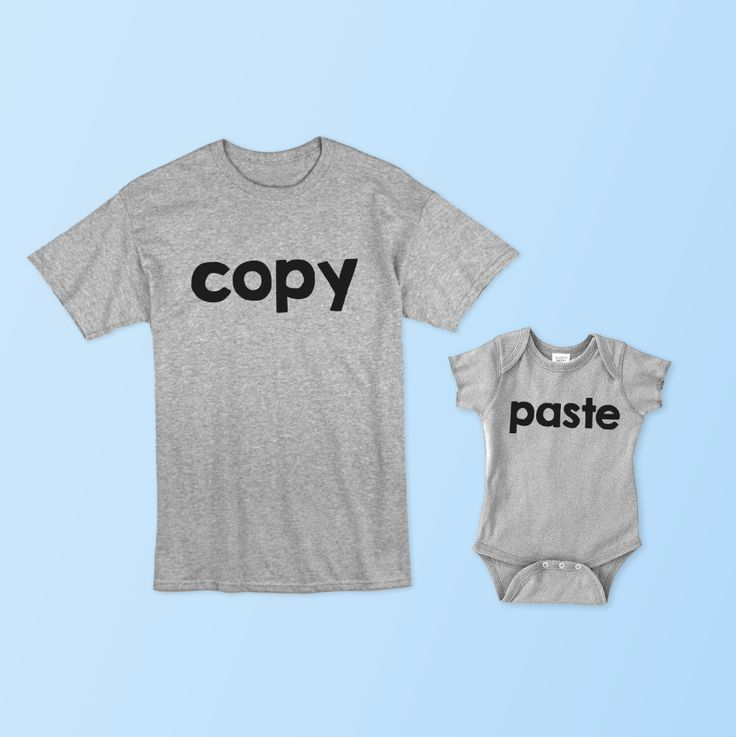 Like father..like son :) The PERFECT Father's Day Gift - 2 Shirt Set ...order yours now!   Included: 2 Shirts (Mens Tee & Onesie/Toddler Tee) PREMIUM - Cust