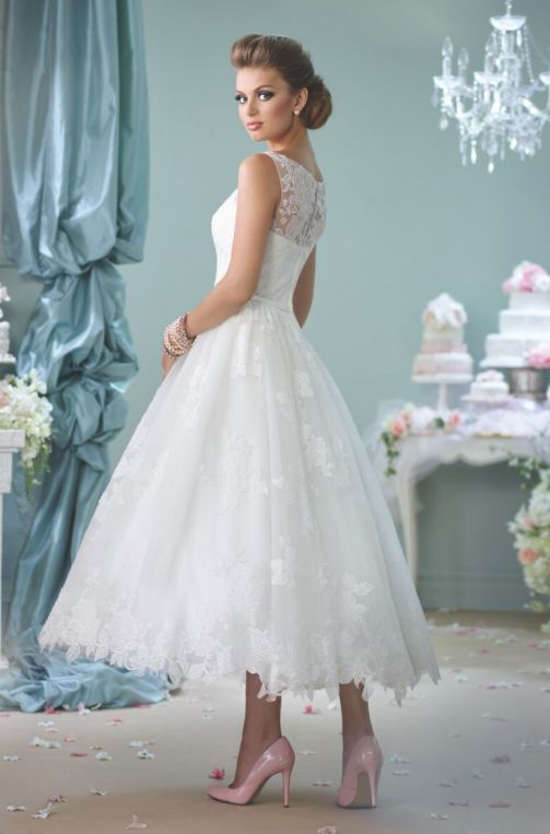 134 best Short Wedding Dresses images on Pinterest | Short bridal ...
