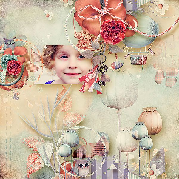 Once upon a poppy kit  by sarahh graphics @ pickleberrypop