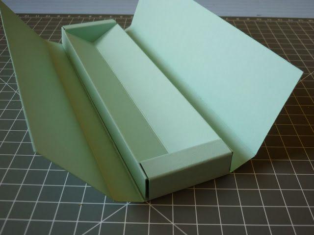 Anleitung für eine Verpackung für Kugelschreiber, Füller & Co unter: http://jennys-papierwelt.blogspot.de/search/label/Verpackung%20mit%20Anleitung