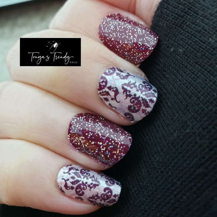 Color Street For The Win This Is Black Cherry Bonbon And