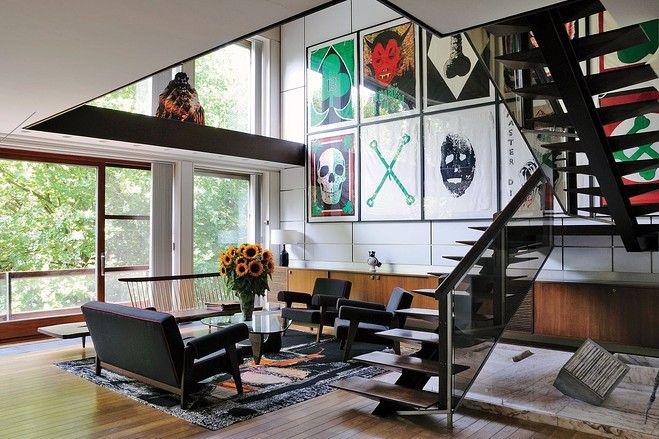 Raf Simons apartment