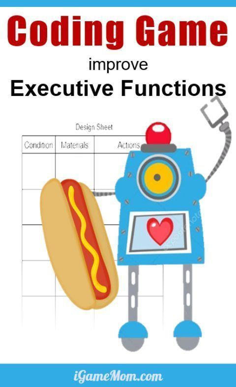 Executive Function Essential Part Of >> Coding Game Improving Kids Executive Functions Science Fair