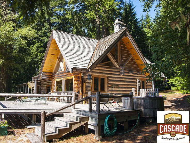 10 Best Handcrafted Log Homes Images On Pinterest