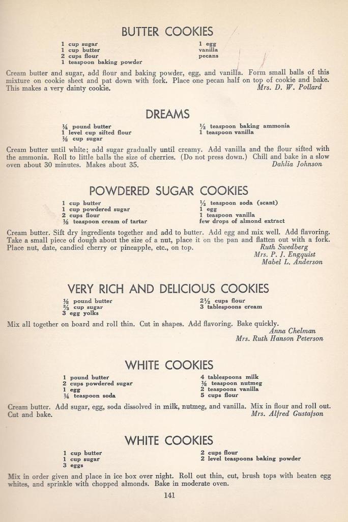 Easy depression era recipes pdf