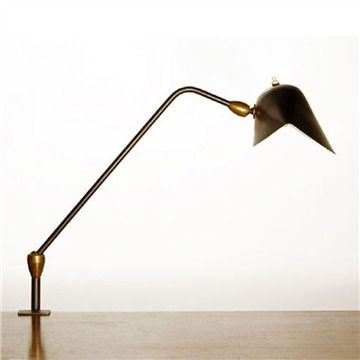 Serge Mouille Agrafee Desk Lamp - Style # Agrafee-Desk, Modern Desk Lamp – Desk Light – Bankers Lamp – Desk Lighting – Best Desk Lamp – Offi...