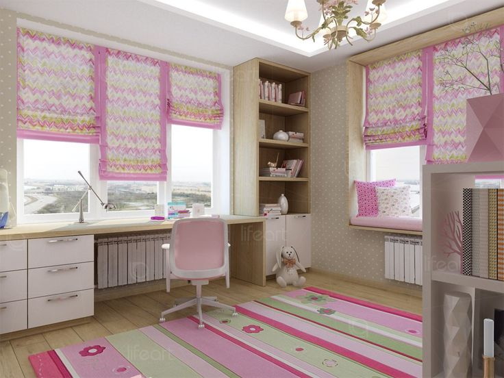 Комната для девочки   lifeat.su