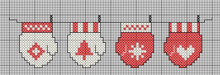 Free cross stitch patterns Christmas
