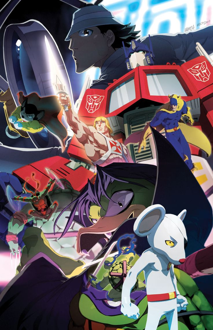 80s Cartoon Heroes FTW!! (Optimus Prime, Mighty Mouse, He-Man, TMNT, Inspector Gadget!) by Jeffrey 'CHAMBA' Cruz