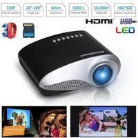 Home | Excelvan  HOT LED LCD Projector 480*320 720P USB VGA  Home Theater Multimedia Player (Please order projector or screen separately) #hometheaterprojectorscreen