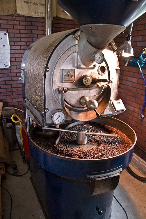 vertigo coffee roaster