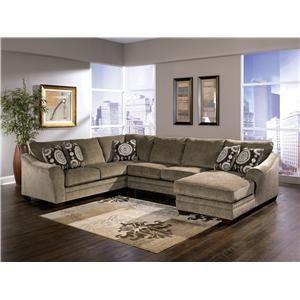 Ashley Furniture Sectional Microfiber 20 best home: living room images on pinterest | living room