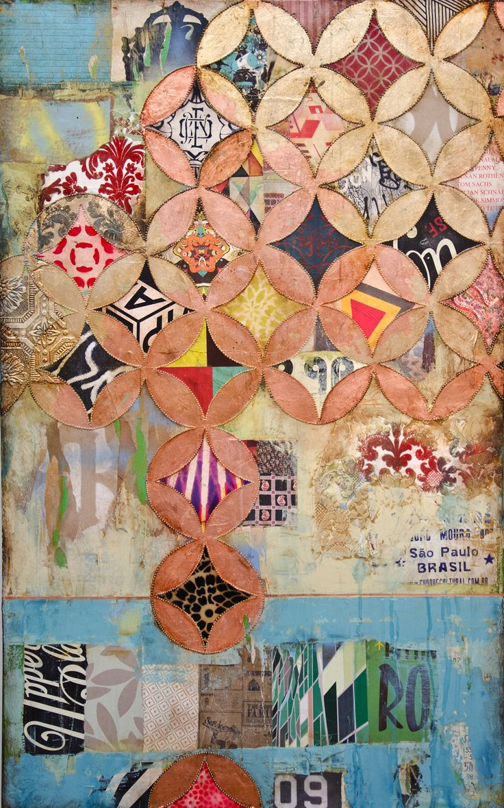 Jill Ricci--2010..Upper Playground, mixed media on canvas