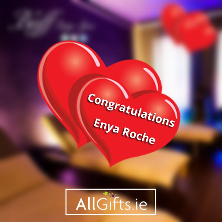 Congratulations to our competition winner - Enya Roche! ❤️