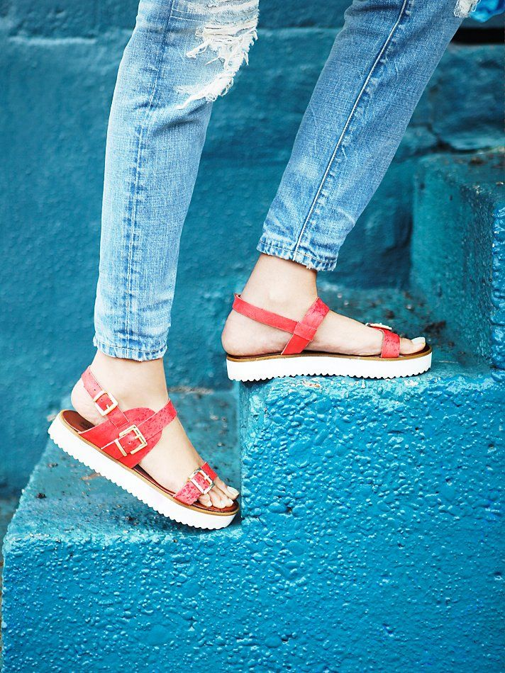 INUOVO Paradox Platform Sandal at Free People Clothing Boutique