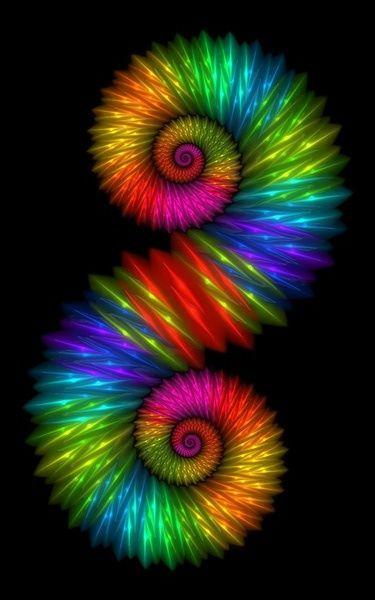 caballito de colores