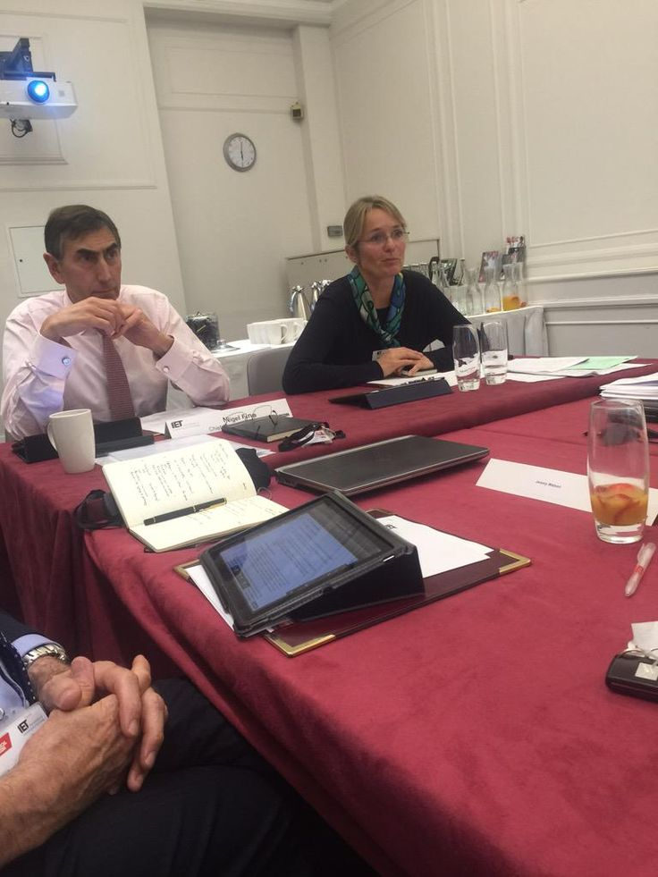 .@TheIET President @IETPresident Naomi Climer Chairing her first Board of Trustees meeting