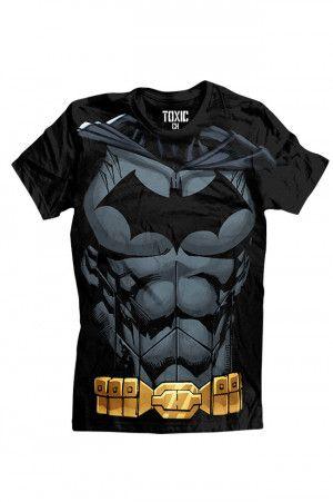 Playera de Batman para Hombre en Color Negro. Si quieres ver mas productos de #DCcomics, checa nuestro link donde tenemos los mejores modelos listos para ti con envíos a todo #Mexico.