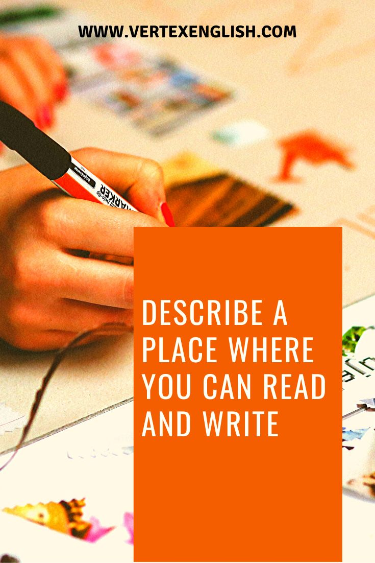 describe a place where you can read and write september