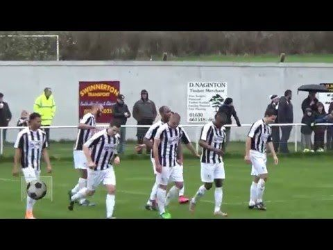 Match Highlights | Market Drayton Town 2 - 3 Stafford Rangers | 9-4-16