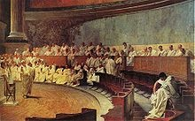 Roman law is the legal system of ancient Rome, and the legal developments comprising more than a thousand years of jurisprudence from the Twelve Tables (c. 439 BC) to the Corpus Juris Civilis (AD 529) ordered by the emperor Justinian I. The historical importance of Roman law is reflected by the continued use of Latin legal terminology in legal systems influenced by it.