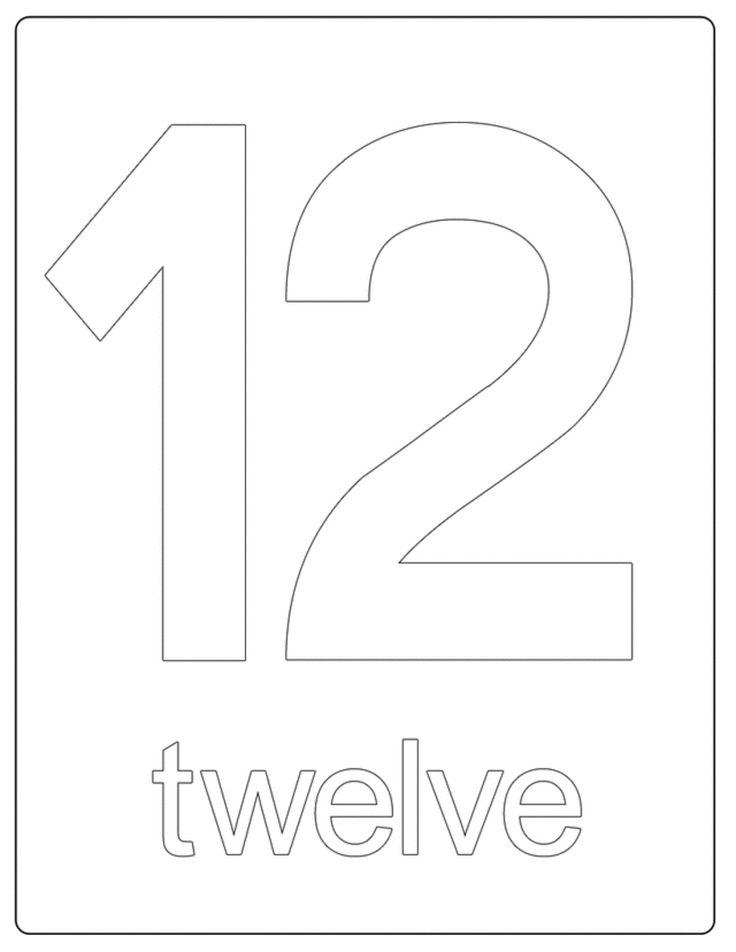 Best 25+ Number 12 Ideas On Pinterest
