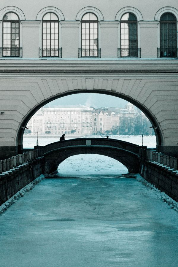 architecturia: Bridge and canal to lovely art