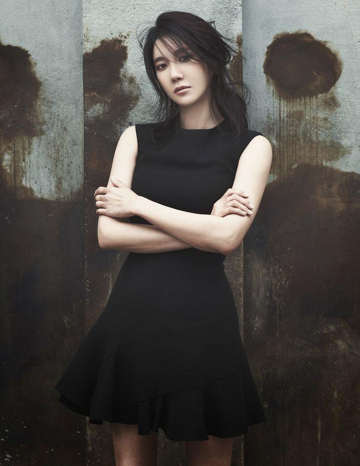 My idol - Korean action star Lee Ji Ah