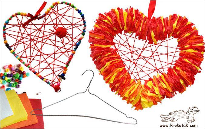Coeur à partir d'un cintre