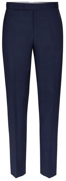 Topman CHARLIE CASELY-HAYFORD X Blue Twill Skinny Wedding Suit Pants