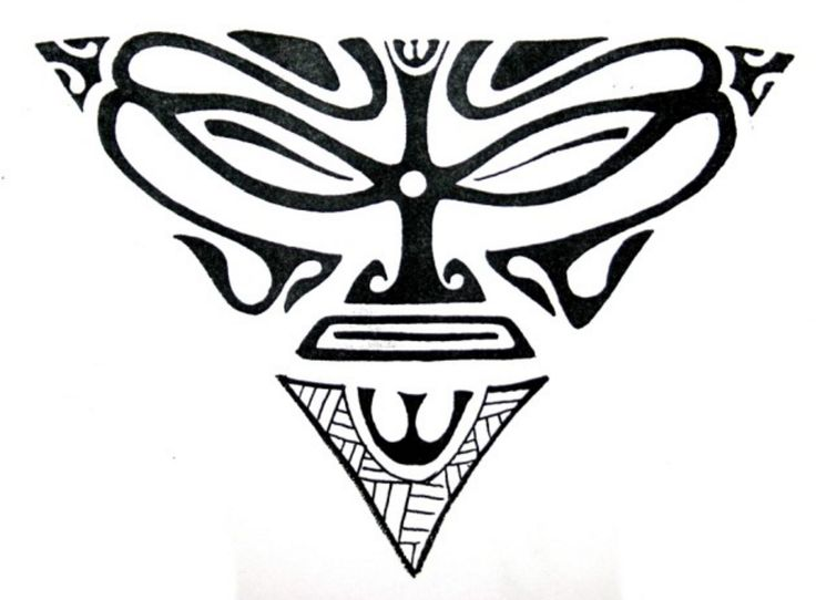 tattoo maori triangle tattoosdatabase co hawaii pinterest. Black Bedroom Furniture Sets. Home Design Ideas