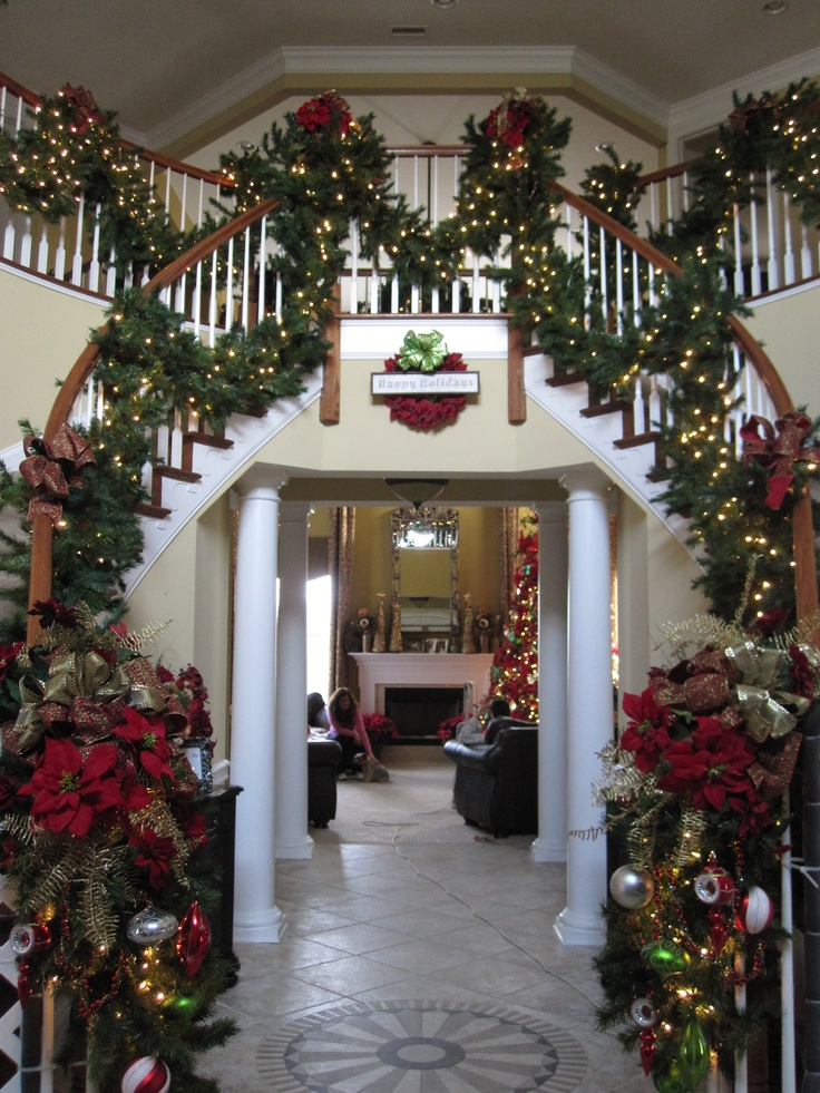 1000 Images About Stair Garlands On Pinterest Copper