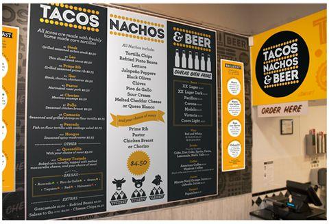 UNO's Branding Work for Tacos Nachos & Beer - The Minneapolis Egotist