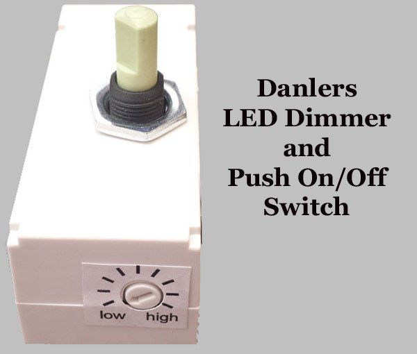 Danlers offers a few LED dimmers and LED dimmer units such as DPDLED